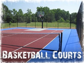 Virginia Beach Basketball Court Builder, Chesapeake, Portsmouth, Suffolk, Hampton Roads